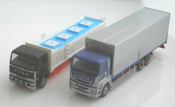 トラックコレクション 2台セットE 三菱ふそうスーパーグレート