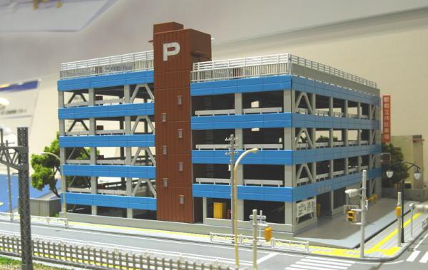 アオシマ 立体駐車場