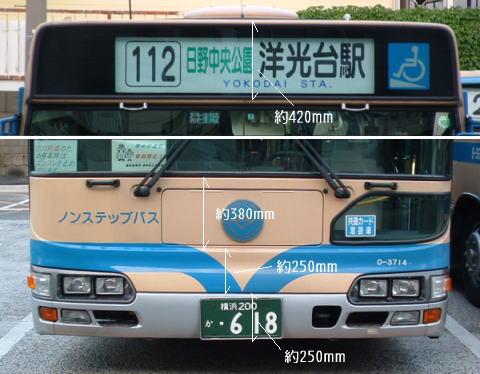 実車の寸法2