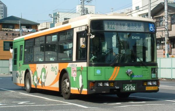 みんくるバスE406号車