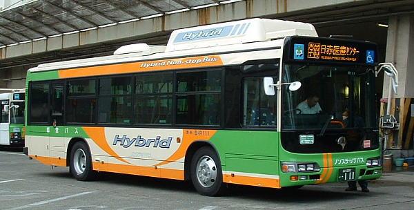 都営バス B-R111 日野BRCハイブリッド